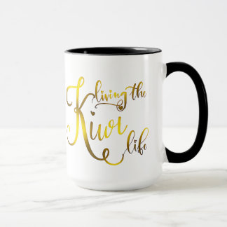A Living the Kiwi Life Coffee Mug