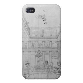 A London Liquor Shop, 1839 Cover For iPhone 4