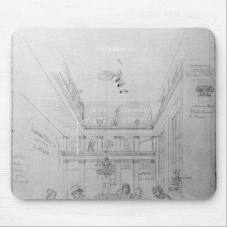 A London Liquor Shop, 1839 Mouse Pad