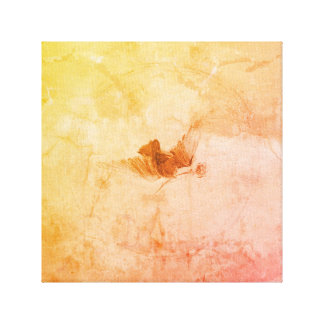 A Lone Bird In Flight Wrapped Canvas