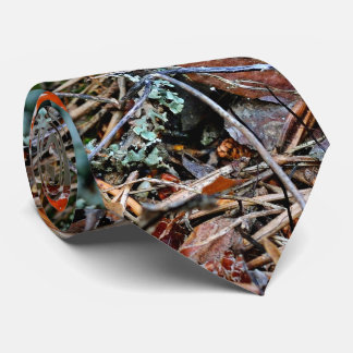 A Lonely Agaric Fungi Tie