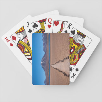 A lonely path playing cards