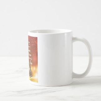 A long road starts with a single step coffee mug