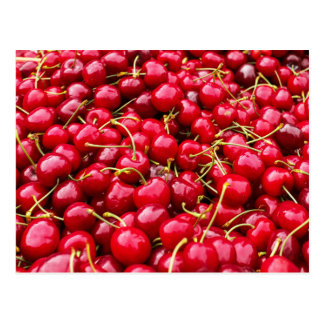 A lot of cherries postcard