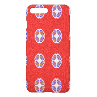 A lot of red abstract pattern iPhone 7 plus case