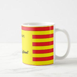 A loud mug sure to wake you up - retro lightning