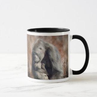 A Love So Grand - Gorilla Art Mug