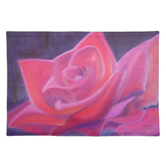 A Lovers Red Rose Placemat