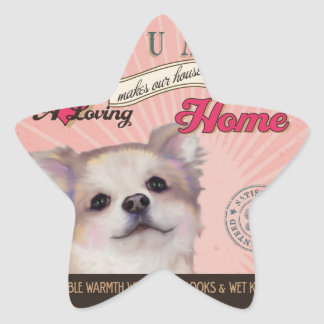 A Loving Chihuahua Makes Our House Home Sticker