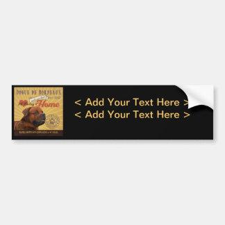 A Loving Dogue de Bordeaux Makes Our House Home Car Bumper Sticker