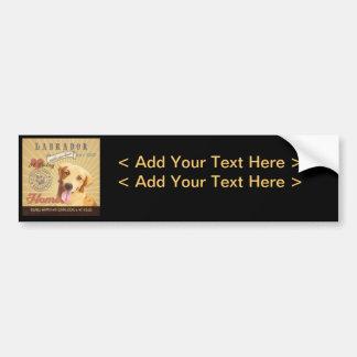 A Loving Labrador Makes Our House Home Bumper Sticker