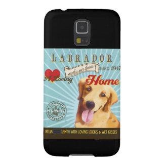 A Loving Labrador Makes Our House Home Galaxy S5 Case