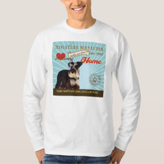 A Loving Miniature Schnauzer Makes Our House Home T-Shirt