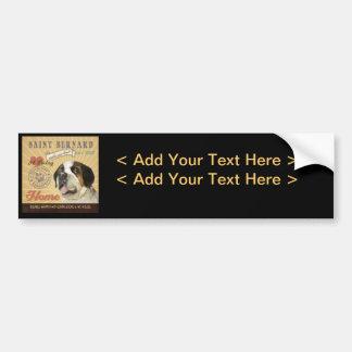 A Loving Saint Bernard Makes Our House Home Bumper Sticker
