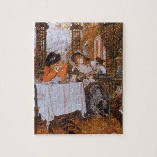 A Luncheon (Le Dejeuner) by James Tissot Jigsaw Puzzle
