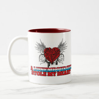 A Luxembourger Stole my Heart Two-Tone Coffee Mug