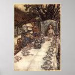 A Mad Tea Party by Arthur Rackham