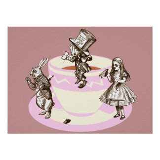 A Mad Tea Party Poster
