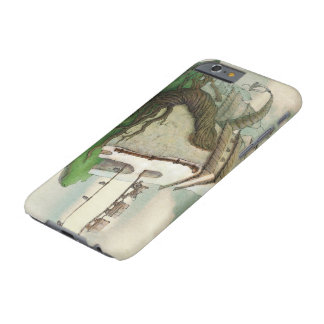 a magic flying island barely there iPhone 6 case