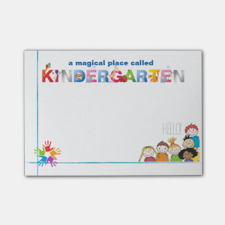 A Magical Place Called Kindergarten Post-it® Notes