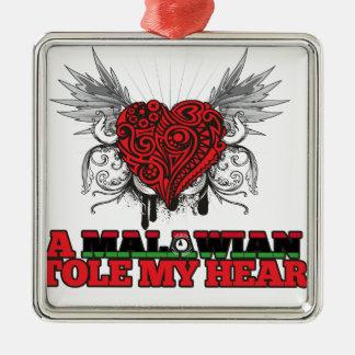 A Malawian Stole my Heart Ornament