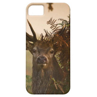 A Male Red Deer Blends in London's Richmond Park. Barely There iPhone 5 Case