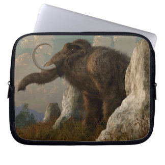 A Mammoth on Monument Hill Laptop Computer Sleeves