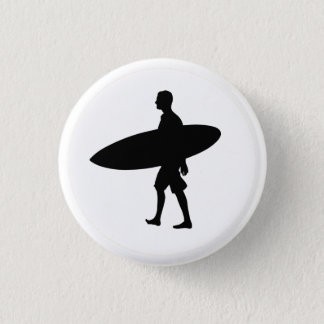 A man and his Board 3 Cm Round Badge