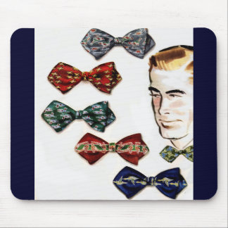 a man and his bowties mouse pad