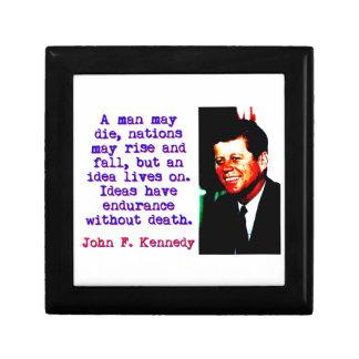 A Man May Die - John Kennedy Gift Box