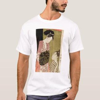 A Man Painting a Woman T-Shirt