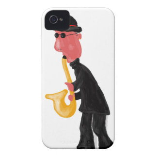 A man playing saxophone Case-Mate iPhone 4 cases