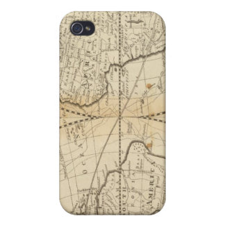 A Map of the World Cases For iPhone 4
