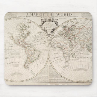 A Map of the World Mouse Pad