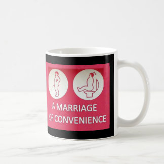 A Marriage of Convenience Basic White Mug