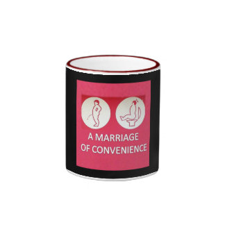 A Marriage of Convenience Ringer Mug
