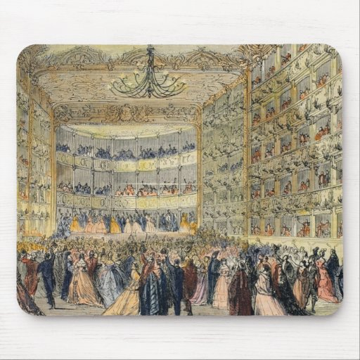 A Masked Ball at the Fenice Theatre, Venice, 19th Mousepads