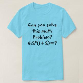 A math problem 6:2*(1+2)= T-Shirt