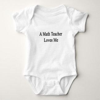 A Math Teacher Loves Me T-shirts