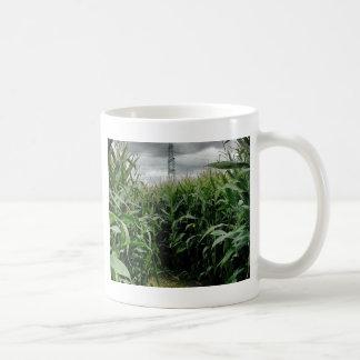 A maze of maize coffee mug