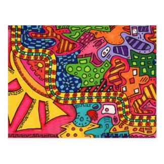 A Maze Postcard