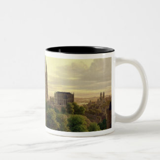 A Medieval Town in 1830, 1830 Two-Tone Coffee Mug