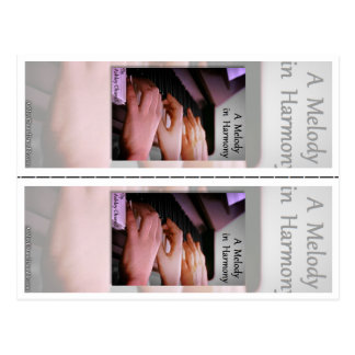 """""""A Melody in Harmony"""" by Ashley Chunell Bookmarks Postcard"""