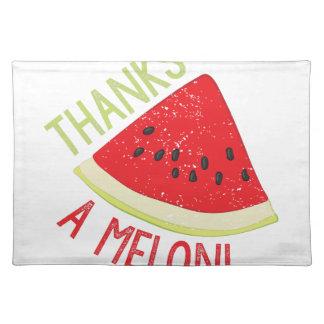 A Melon Place Mat