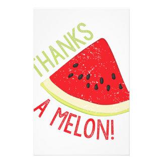 A Melon Stationery