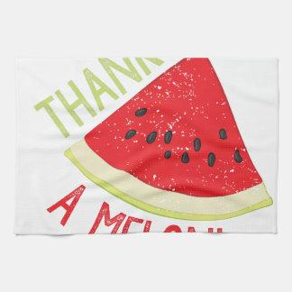 A Melon Tea Towel