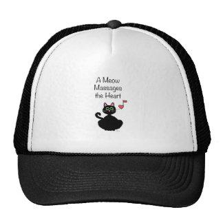 A Meow Massages the Heart Cap
