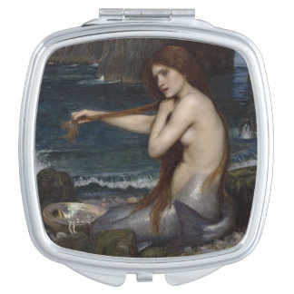 A Mermaid by John William Waterhouse Mirrors For Makeup