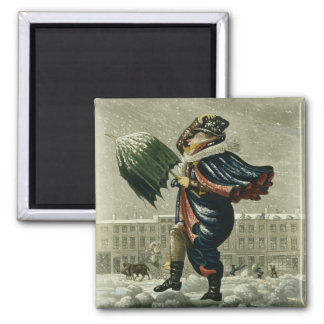 A Merry Christmas and a Happy New Year in London, Fridge Magnet