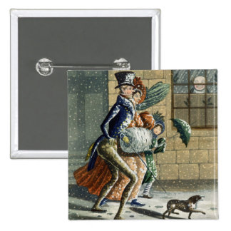 A Merry Christmas and Happy New Year to Ye, Victor 15 Cm Square Badge